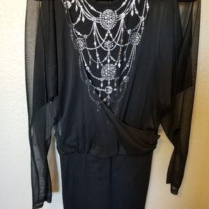 Cool Morgan black dress